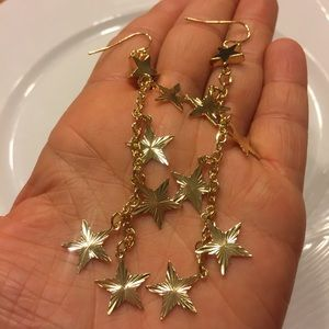 ⭐️ New list! ⭐️ Boho Star dangle earrings